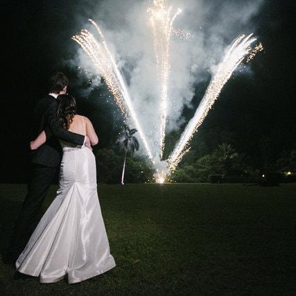 Wedding Fireworks Mossman